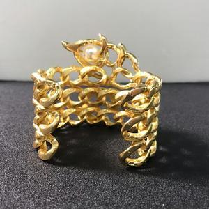 Image 4 - Quente da cor do ouro do vintage faraó egípcio design jóias besouro pulseira grande pulseira manguito quente marca jóias de cobre