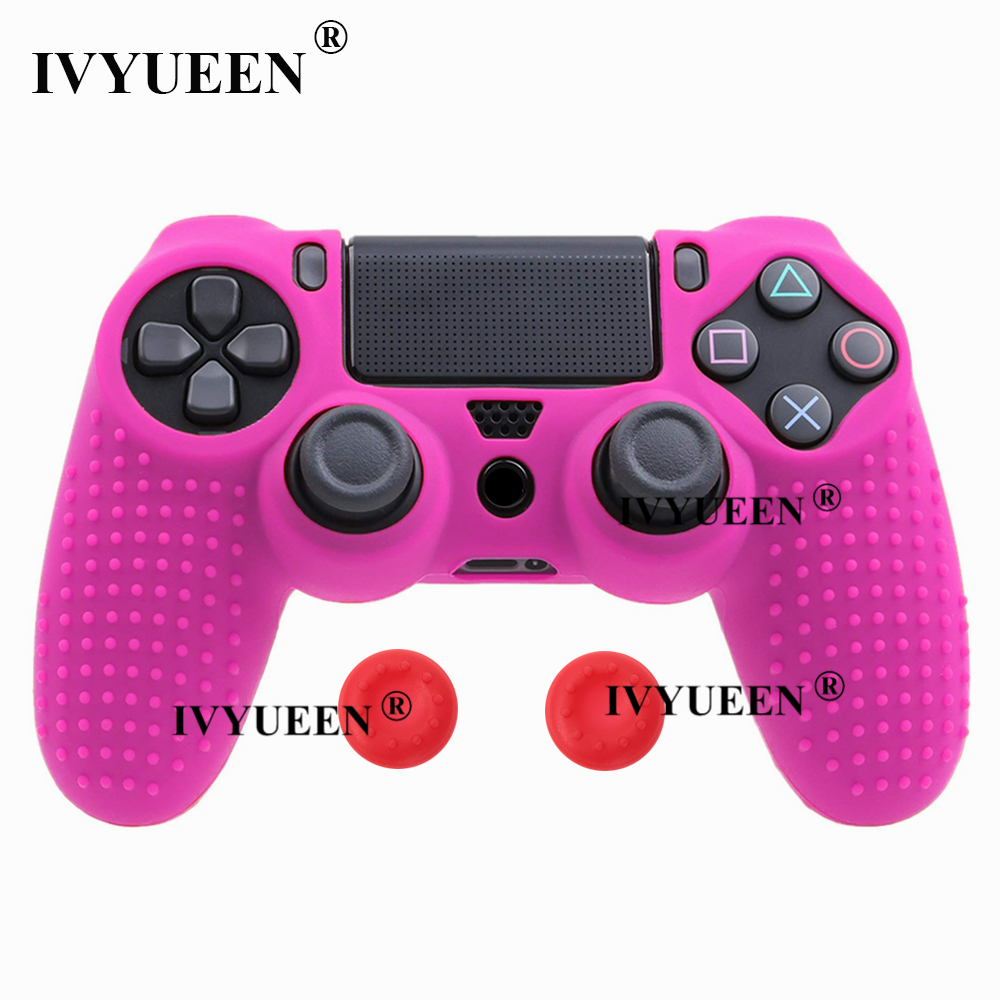 for Sony PlayStation dualshock 4 ps4 pro slim controller silicone case skin 27