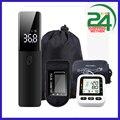 Цифровой прибор для измерения артериального давления на запястье, Сфигмоманометр, Пальчиковый пульсоксиметр, Бесконтактный ИК-термометр, ...