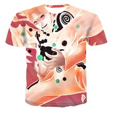 2020 New Summer Anime Naruto Uchiha Sasuke Itachi 3d digital printing Male O-Neck Cartoon Tee Tops Men/Women Harajuku Clothes