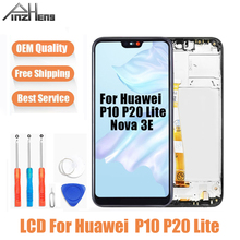 AAAA Quality LCD For Huawei P10 P20 Lite LCD Touch Screen Display Digitizer Assembly Replacement For Huawei Nova 3E Screen