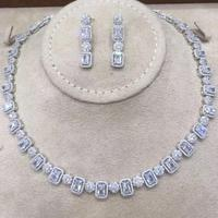 GODKI Famous Brand 2019 Charms Wedding Jewelry Sets Making Jewelry Sets For Women Statement Necklace Earrings Accessories