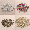 100 PCs New Year Christmas Bells Multicolor Gold Silver Small Jingle Bells Decoration Doll Accessories Toys Replacement Supplies