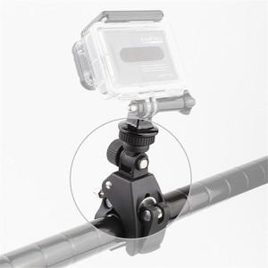 Image 2 - กล้องHandlebar Seatpost Clamp Bar Mountคลิป + อะแดปเตอร์สำหรับGoPro Hero 8/7/6/5/4/3/3 + 2/1