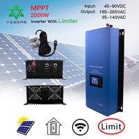 Venta https://ae01.alicdn.com/kf/H948c0f932f1745e99cda8bae8226c0c6u/Microinver MPPT de 2000W inversor Micro Solar con Sensor limitador 45 90 Vdc para paneles solares.jpg