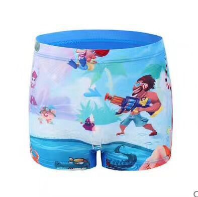 CHILDREN'S Cartoon Swimming Trunks Multi-color Multi-Code Mixed Hair Swimwear Male Baby Swimming Trunks