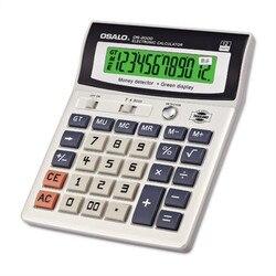 NEW OS-2000 calculator Ultraviolet computer office cashier finance LED luminous lamp display calculators