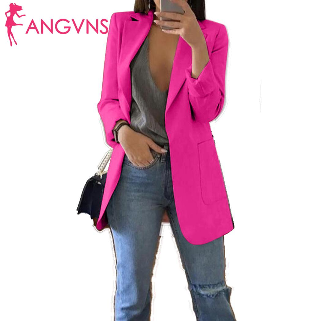 Women Autumn Cardigan Coat Turn-down Collar Solid Jacket Casual Outwear Autumn, Winter Casual With Pockets