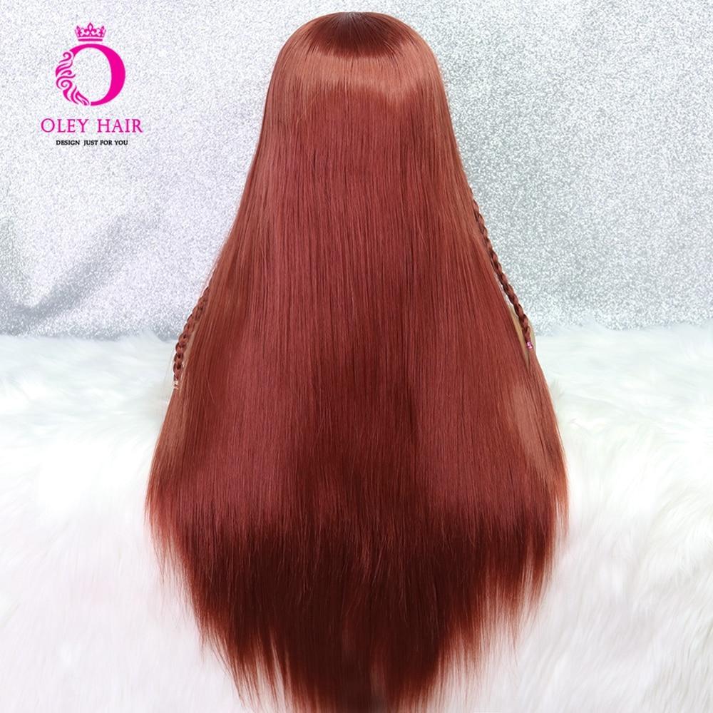 350 peruca de gengibre sem cola peruca 04