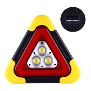 Image 4 - Multi Function Triangle Warning Sign Car LED Work light Road Safety Emergency 6XDB