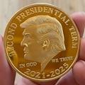 Sammeln Gold Münzen UNS Donald Trump Gedenkmünze