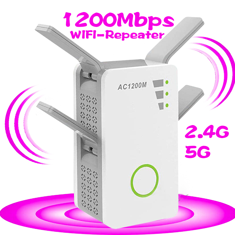 Wireless Wi-fi 802.11n 1200m Bps 2.4g Firewall Home Router Repeater Extender Repetidor Booster 4g For Xiaomi Wifi Versterker