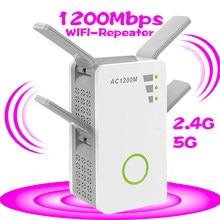 Беспроводной Wi-Fi 802.11n 1200m bps 2,4g межсетевой фильтр домашний маршрутизатор Ретранслятор усилитель ретранслятор 4g для xiaomi wifi versterker