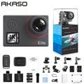 AKASO V50 Elite Inheemse 4 K/60fps 20MP Ultra HD 4K Action Camera Sport WiFi Touch Screen Voice controle EIS 40m Waterdichte Camera
