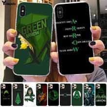 coque iphone 12 green arrow