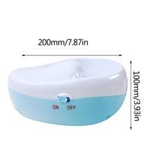Tragbare Größe Elektrische Maniküre Schüssel für Nagel SPA mit Luftblase und Vibrational Tragbare Nagel Massage Relaxtion