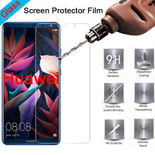 Protective Glass for Huawei P30 Mate 20 Lite P20 Pro P7 P6 Explosion-proof Screen Protector on Huawei P Smart Plus(China)
