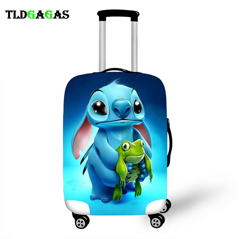 Elastic Luggage Protective Cover Case For Suitcase Protective Cover Trolley Cases Covers 3D Travel Accessories Stich Pattern T21
