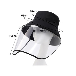 Image 3 - Multi function Protective Cap Anti Bacterial Protective Hat Eye Protection Anti fog Windproof Hat Anti saliva Face Cover Cap