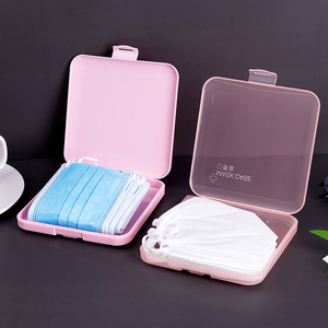 KN95 Mask Storage Case Box Cover Pink Green Box Masks Cute To Store Masks Box Save Delicate Saves Mask Practical Face Gaine