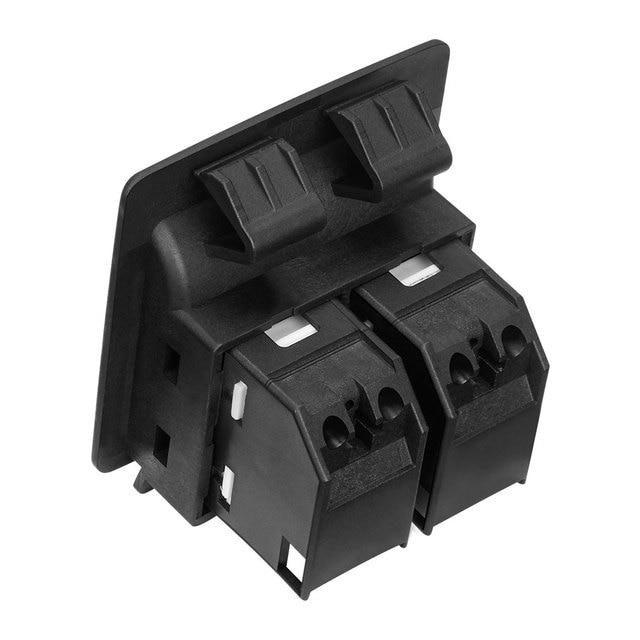Gorgeri interruptor de elevalunas el/éctrico delantero derecho interruptor de control de elevalunas el/éctrico para 207 6490.EH