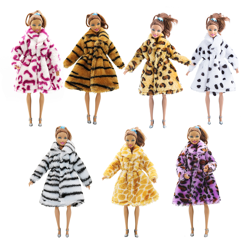 For Original Barbie Doll Clothes Accessories DIY Fashion Handmade Party Girls Style Wear Blouse Dress Skirt For 29cm Dolls Set