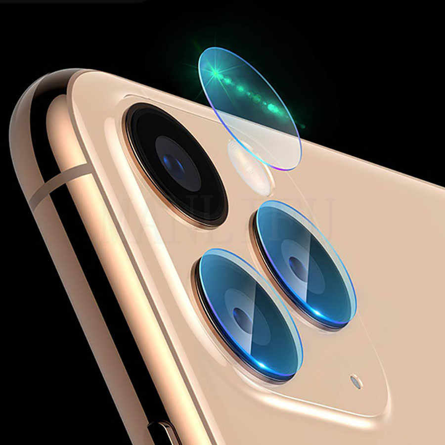 Film de Protection d'objectif de caméra arrière pour iPhone 11 Pro protecteur d'objectif en verre trempé Max pour Apple iPhone X XR XS Film de verre Max