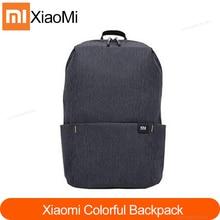 Xiaomi Mi mochila colorida Original para hombre y mujer, bolso de 10 colores, 165g de peso, tamaño pequeño, Mochila deportiva para el pecho, 8 colores