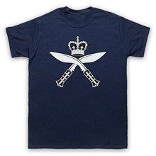 GURKHA REGIMENTAL INSIGNIA BADGE LOGO ARMY SYMBOL MENS WOMENS KIDS T-SHIRT(China)