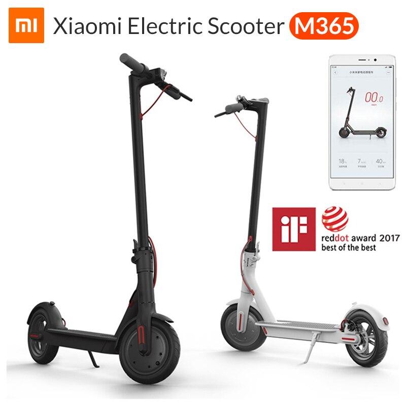 Xiao mi mi Elektrische Roller mi jia M365 Smart E Roller Skateboard mi ni Faltbare Hoverboard Patinete Electrico Erwachsene 30km Batterie