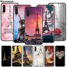 Red Paris London Eiffel Tower Case for Xiaomi Mi A3 9T CC9 C