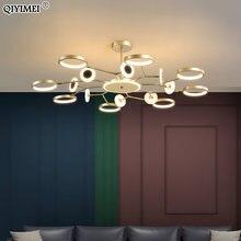 Современный светодиодный светильник Люстра для спальни гостиной