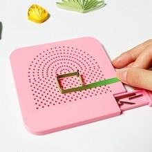 DIY приспособление для бумаги бумажный обмоточный диск поделки из бумаги ручной работы DIY рулон Моталка для прокладочной бумаги с фиксированной направляющей для ногтей