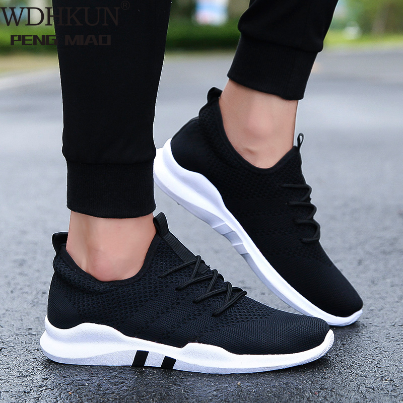Men Sneakers Men Casual Shoes Brand Men Shoes Male Mesh Flats Plus Big Size Loafers Breathable Slip On Spring Autumn