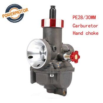 PE28 28mm PE30 30mm Carburetor hand choke Carburador Carb  for Keihin Honda CR80 CR80RB CR85 CR85R Kawasaki KSR 110 KX80 KX100