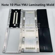 삼성 Galaxy Note10 Plus 용 YMJ 라미네이팅 몰드 Note 8/9 LCD 유리 OCA 라미네이팅 수리 N970 N975 스크린 교체