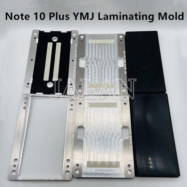 Форма для ламинирования YMJ для Samsung Galaxy Note 10 + 10 Plus, гибкое стекло без изгиба, OCA, ЖК дисплей, ремонт, ламинирование, форма N970 N975
