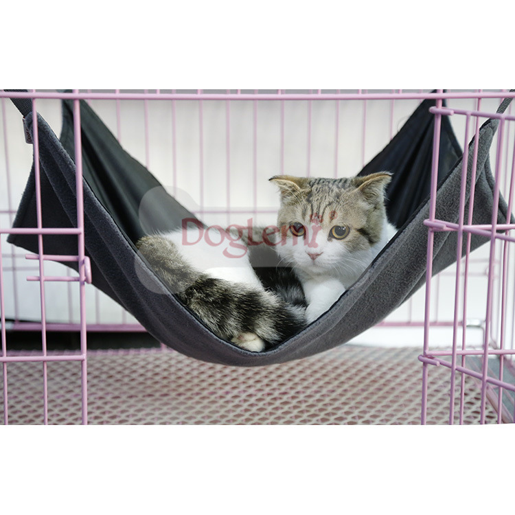 Dole M Oxford Cloth Cat Hammock Pet Bed Cage Cat Nest Winter Two-sided For Multi-functional Waterproof Cat Bed Blanket