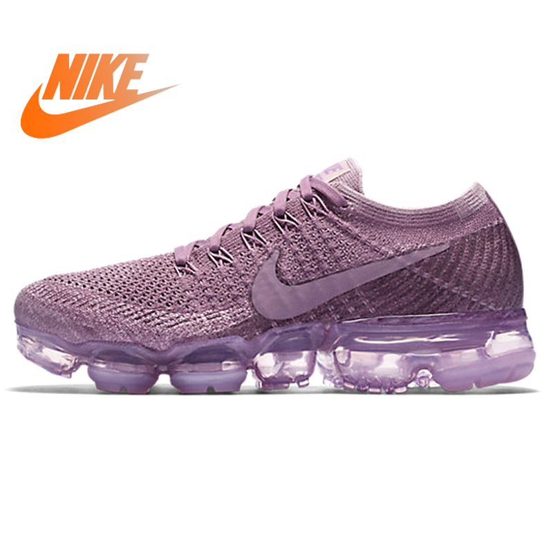 Original Authentic Nike Air VaporMax Flyknit Women's Breathable Running Shoes Outdoor Sports Shoes Good Quality 849557-500