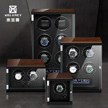 חדש עץ שעון המותח עבור שעונים שחור צבע פסנתר אוטומטי עצמי אלונקות שעון עץ ו עור מפוצל שעון אבזרים