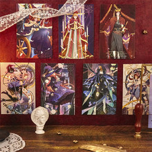 Greeting-Cards Galaxy Postcard Anime Paper Gift Stardust-Series Characters DIY 30pcs/Set