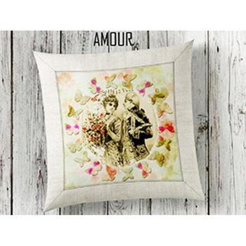 Amour 3d Pillow decorate image