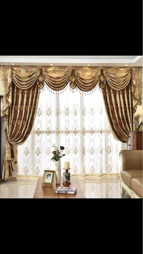 Luxury Curtain Valance For Living Room
