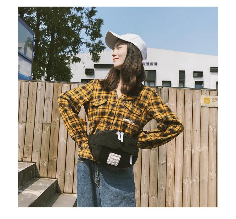 Menghuuo Waist Bag Women Fanny Packs Belt Bag Luxury Brand Nylon Chest Handbag 5 Colors 2018 New Fashion Hight Quality Waist Bag_29