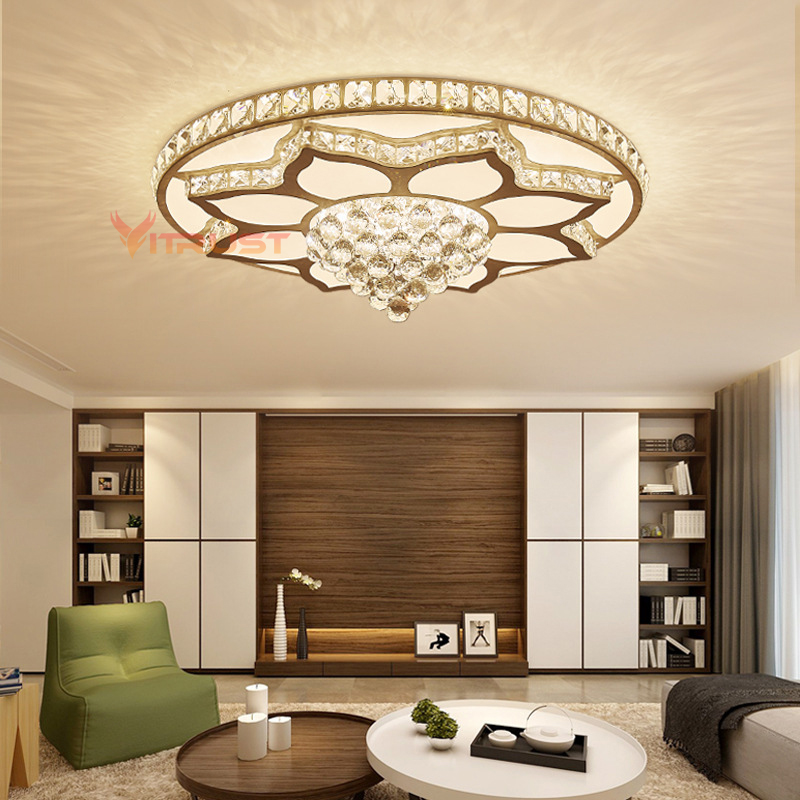 Best Sale 83e7a Crystal Ceiling Lamp Living Room Dining