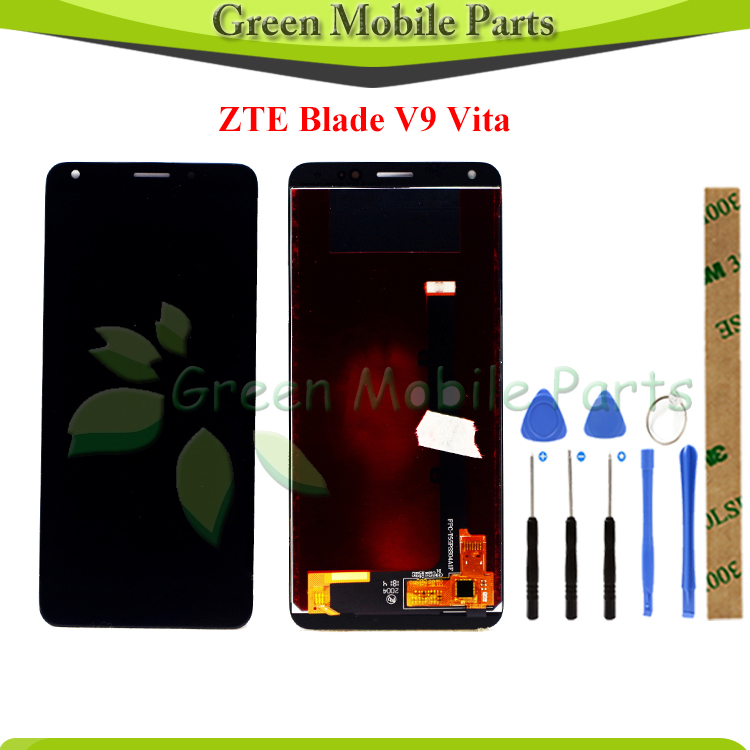 100% Tested LCD Display For ZTE Blade V9 LCD For ZTE Blade V9 Vita LCD Display With Touch Screen Assembly
