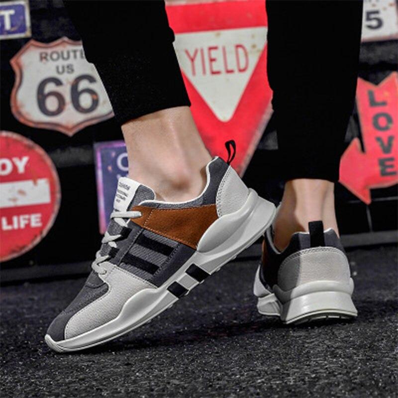 Promo Men's classic sports shoes high quality fashion men's casual shoes comfortable mesh outdoor walking jogging shoes