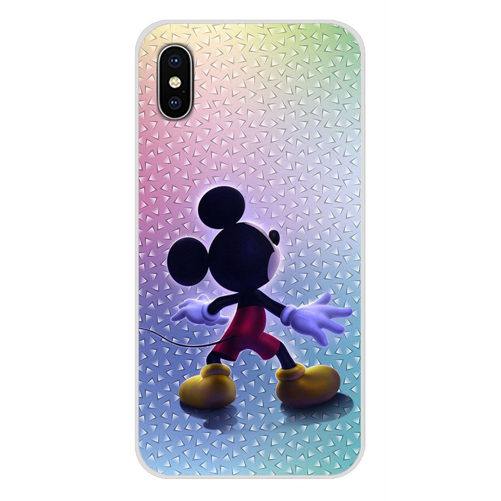 Accessories Phone Cases Covers For Samsung Galaxy S2 S3 S4 S5 Mini S6 S7 Edge S8 S9 S10E Lite Plus Cartoon Mickey Minnie Mouse