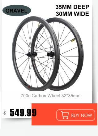 Flash Deal 1130g Only 700C Road Bike Tubular Wheelset Carbon Fiber Bicycle Wheel Bitex Straight Pull Hub For Clmbing Clincher 1230g 3