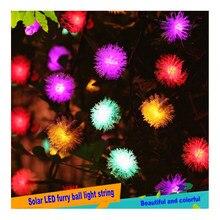 Guirlande lumineuse led solaire, luminaire décoratif d'extérieur, idéal pour un jardin, un jardin ou une cour